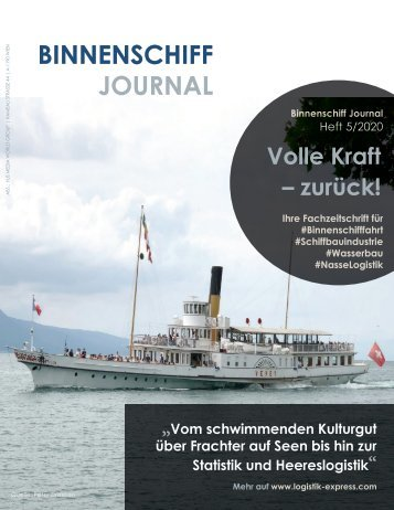BINNENSCHIFF JOURNAL 5/2020