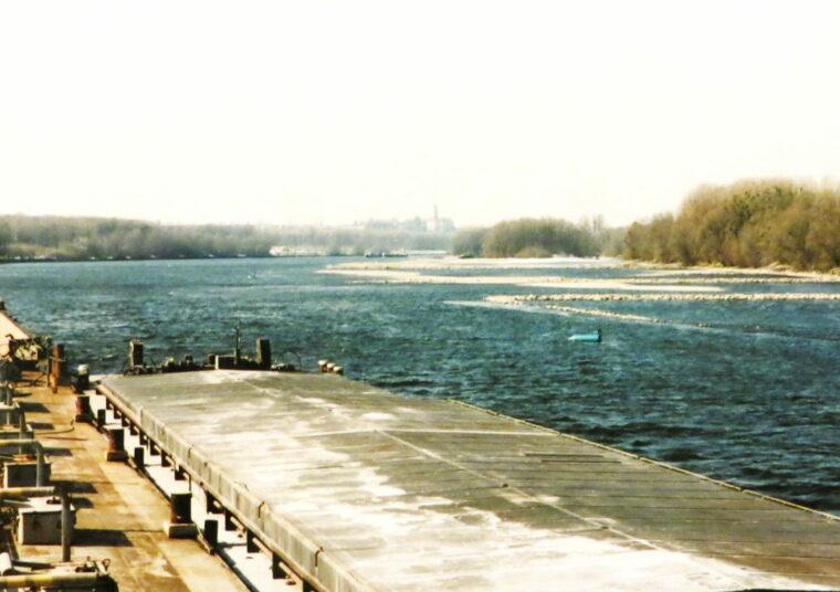 Bottleneck in der Donauschifffahrt