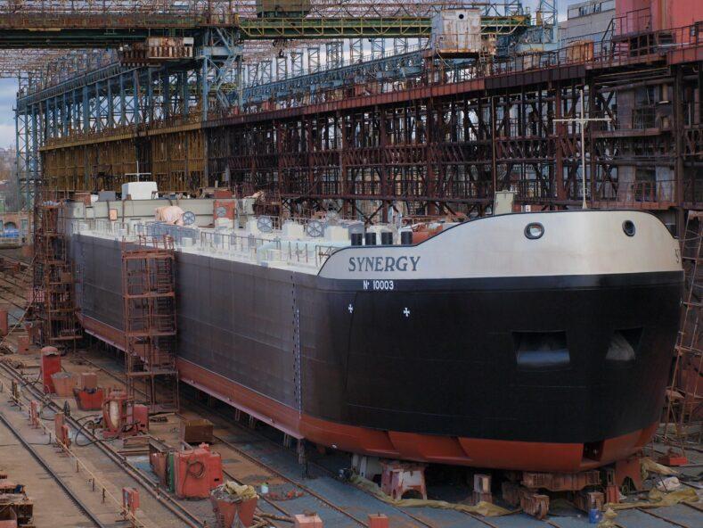 Schiffbau in der Ukraine