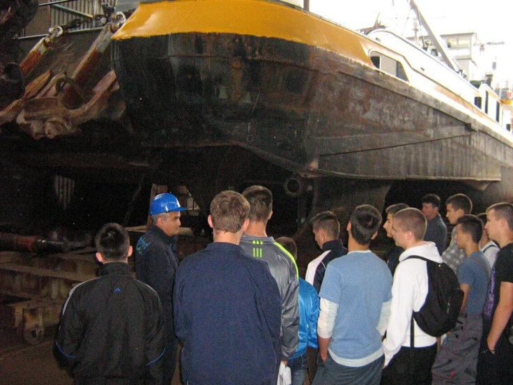 Vom serbischen Schiffbau für die Binnenschifffahrt
