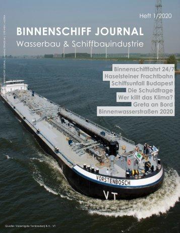 BINNENSCHIFF JOURNAL 1/2020