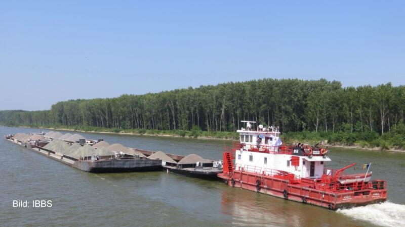 Rumänische Donauschifffahrt schwimmt auf der Erfolgswelle